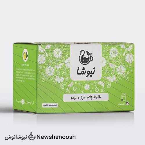 چای نیوشا - دمنوش نیوشا - چای لیمو - دمنوش گیاهی - چای خوش طعم نیوشا