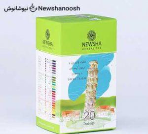 چای نیوشا - دمنوش نیوشا - چای لیمو - دمنوش ترکیبی نیوشا