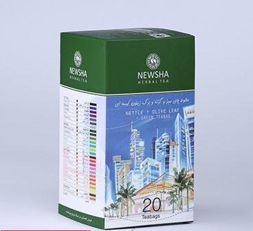 دمنوش نیوشا - مخلوط چای سبز - دمنوش گیاهی
