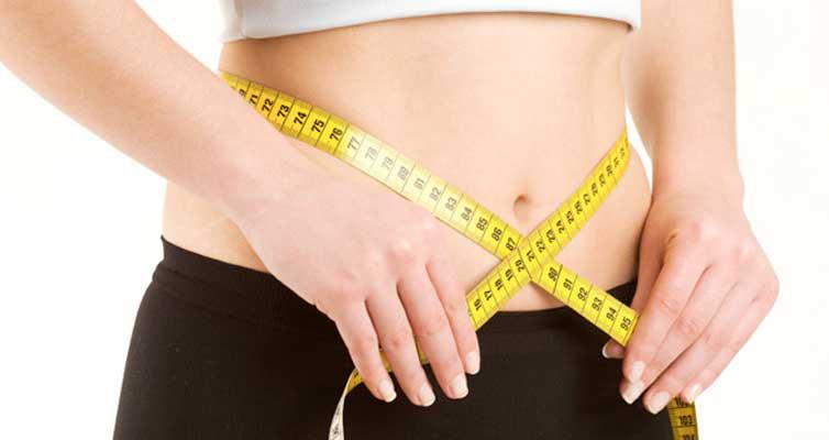 لاغری شکم در عرض یک فته