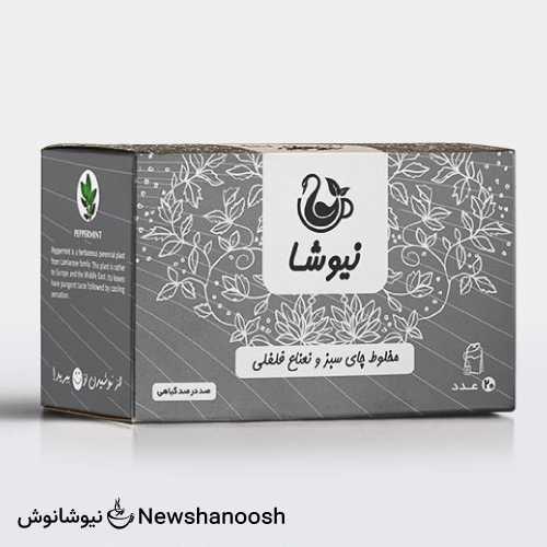 چای نعناع فلفلی نیوشا تسریع کننده کاهش وزن