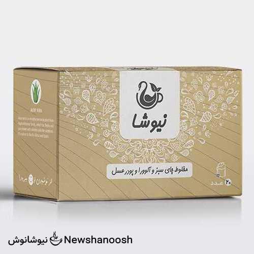 چای آلوورا و عسل نیوشا تقویت کننده پوست