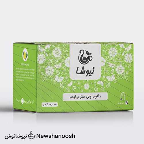 چای سبز و لیمو نیوشا سرشار از آنتی اکسیدان