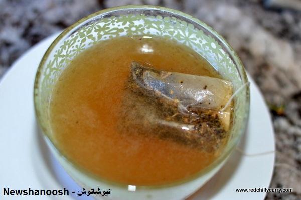 راهنمای مصرف چای زنجبیل نیوشا