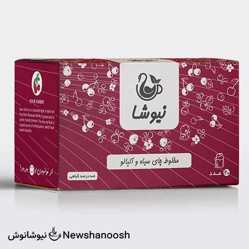 چای آلبالو - معرفی دمنوش نیوشا - کاتالوگ محصولات نیوشا - چای آلبالو نیوشا
