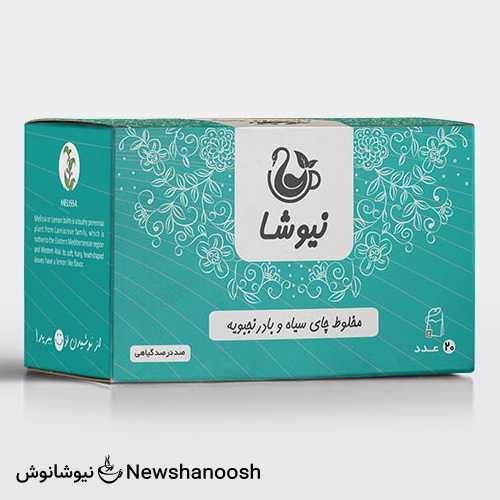چای بادرنجبویه نیوشا درمان سرماخوردگی و انرژی زا