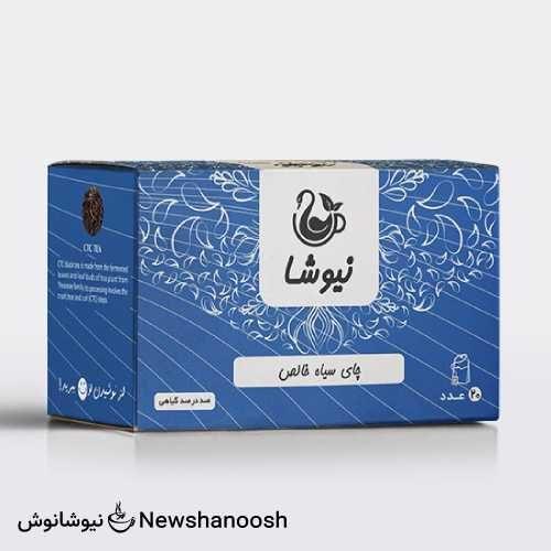 چای نیوشا - چای خالص نیوشا - چای لفاف آلومینیومی نیوشا