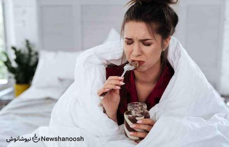 استرس و افزایش وزن - پرخوری عصبی - چاقی استرسی