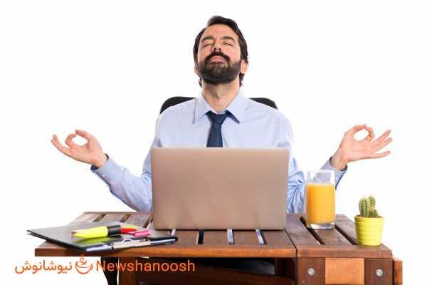 کاهش استرس - چاقی ناشی از استرس - استرس و افزایش وزن - مدیتیشن