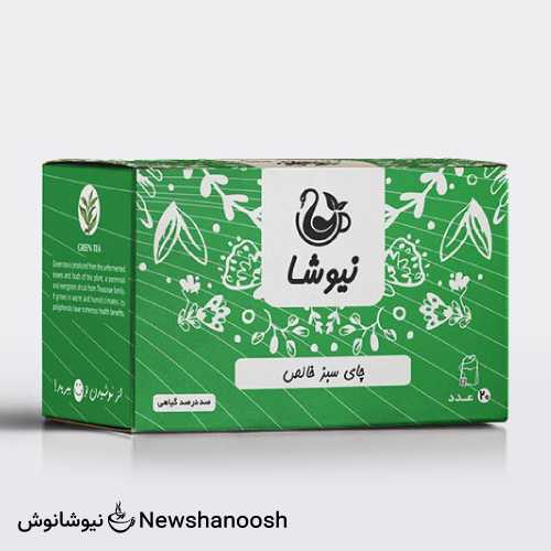 چای سبز نیوشا - دمنوش نیوشا