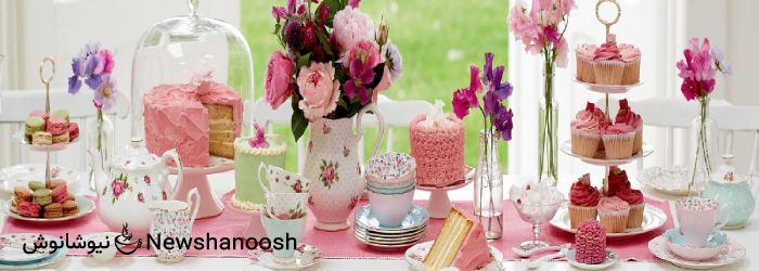 تم تولد - مهمانی چای در تولد - تم پذیرایی - دمنوش گیاهی