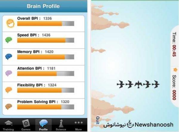 اپلیکیشن پزشکی-نرم افزار پزشکی-نرم افزار مغز