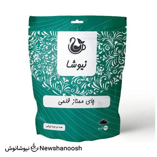 چای قلمی ایرانی نیوشا دارای عطر و طعم طبیعی