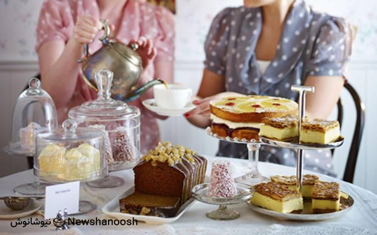 مهمانی با چای - تم پذیرایی - چای گیاهی - دمنوش گیاهی