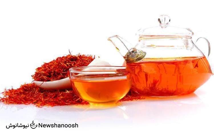 مصرف دمنوش زعفران و چربی سوزی کبد