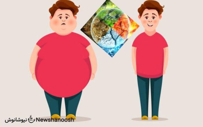 راز تاثیر مزاج در چاقی و لاغری